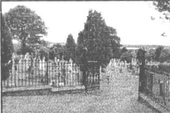 Photo of cemetery gates
